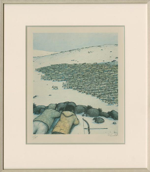 Kurelek, William (Wasyl)_Stalking Caribou