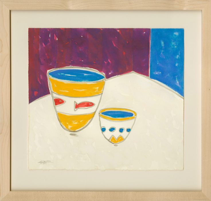 Pedros, Gerald_Still Life with Two Fish_Web